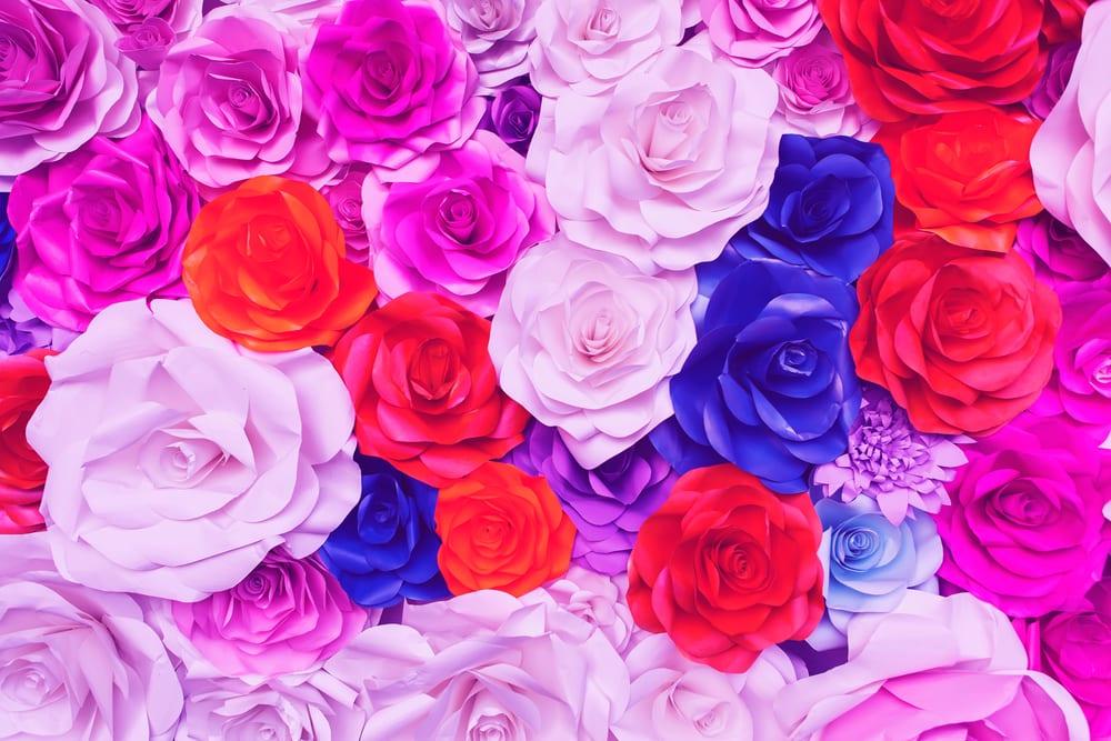 pysseltips, pyssel, pyssla, skapa, DIY, rosor, ros, pappersros, pappersrosor, ros i papper, rosor i papper