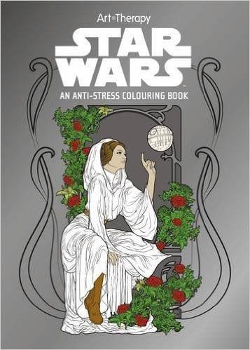 Star Wars, målarbok, målarböcker för vuxna, art therapy, målarbilder