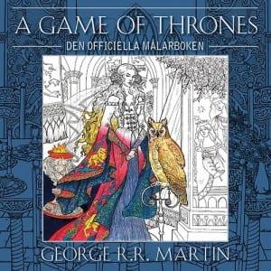 A game of thrones-målarbok, målarbok för vuxna, målarböcker, målarbilder