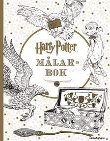 J.K. Rowling, Harry Potter målarbok, målarbok, HP, Harry Potters värld, målarböcker, målarböcker för vuxna, målarbilder