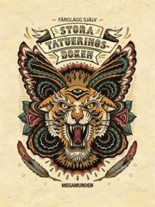 Megamunden, Stora tatueringsboken: Färglägg själv, mindfulness, målarböcker för vuxna, målarbilder