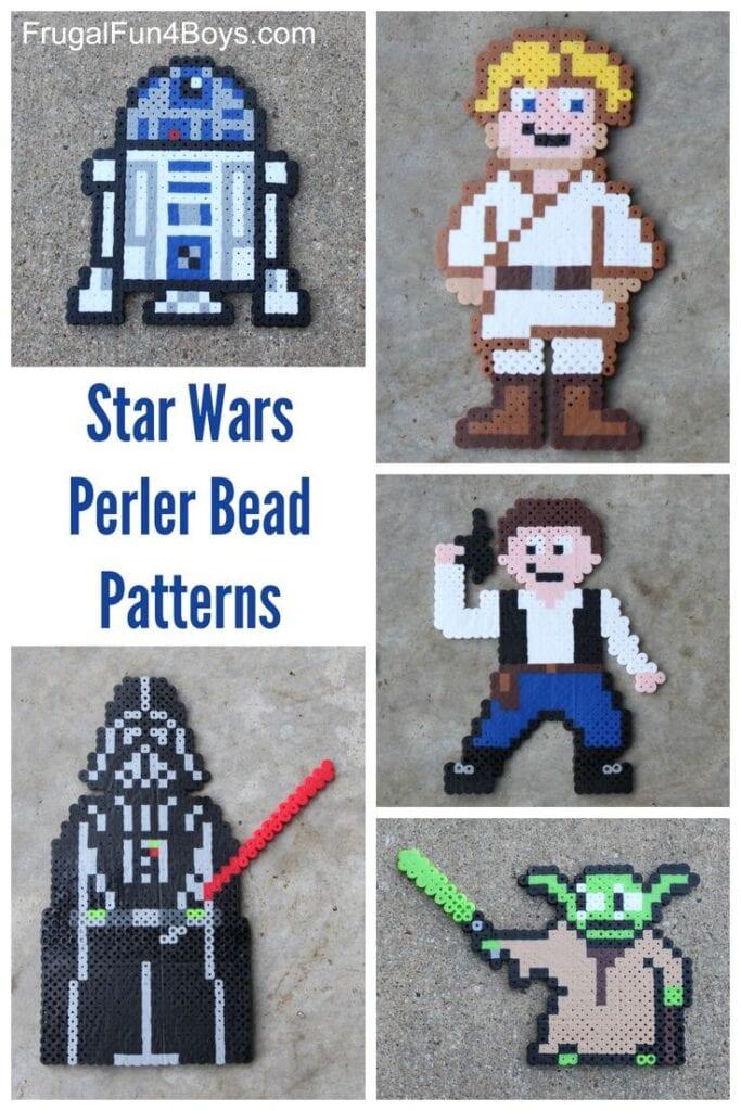 pärlor, pärlplatta, pyssel, pysseltips, mönster, Star Wars
