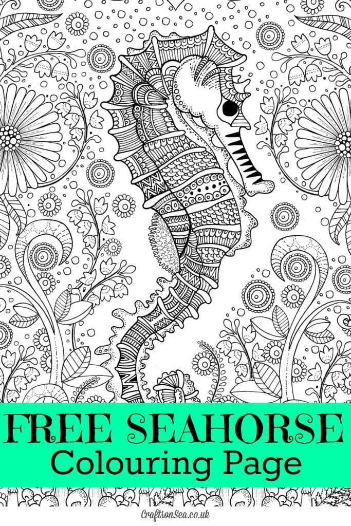 målarbilder, målarbild, gratis målarbilder, gratis målarbild, målarbok, målarböcker, målarbok för vuxna, målarböcker för vuxna, zentangle, mandala, mindfulness, måla, färglägga, mindfullness, doodle, bättre hälsa, bra hälsa, sjöhäst, havsdjur