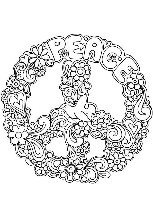 målarbilder, målarbild, gratis målarbilder, gratis målarbild, målarbok, målarböcker, målarbok för vuxna, målarböcker för vuxna, zentangle, mandala, mindfulness, måla, färglägga, mindfullness, doodle, bättre hälsa, bra hälsa, peace, peacetecken, duva
