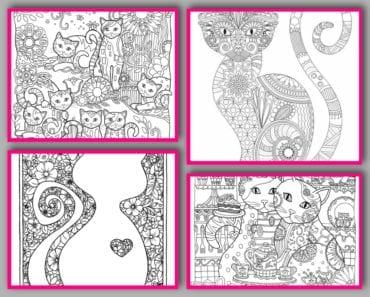 målarbilder, målarbild, gratis målarbilder, gratis målarbild, målarbok, målarböcker, målarbok för vuxna, målarböcker för vuxna, zentangle, mandala, mindfulness, måla, färglägga, mindfullness, doodle, bättre hälsa, bra hälsa, katt, kattbilder, målarbilder med katter, bilder på katter