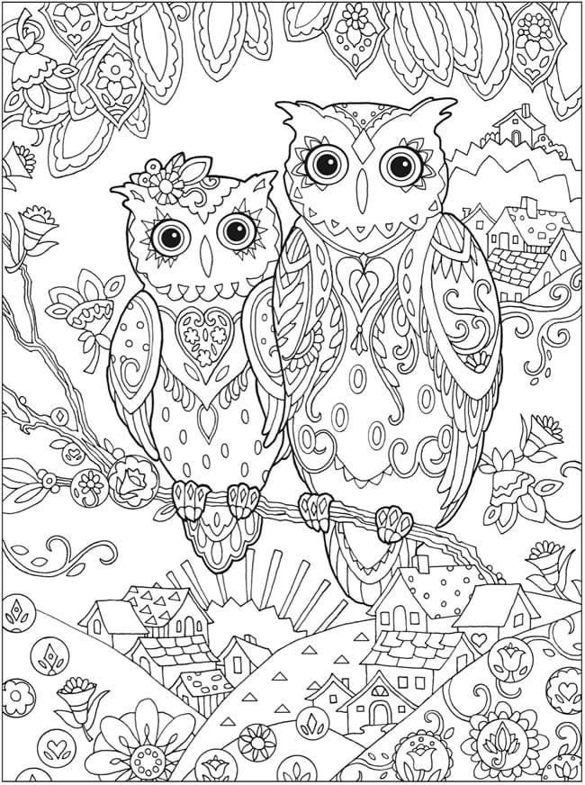 målarbilder, målarbild, gratis målarbilder, gratis målarbild, målarbok, målarböcker, målarbok för vuxna, målarböcker för vuxna, zentangle, mandala, mindfulness, måla, färglägga, mindfullness, doodle, bättre hälsa, bra hälsa, uggla, ugglor, uv, fåglar, bilder på ugglor