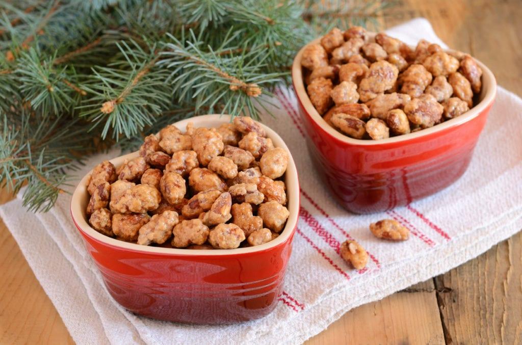 julgodis, godis, choklad, recept, julbak, mandlar, brända mandlar, kanderade mandlar
