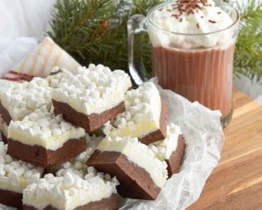 recept, fudge, godis, julgodis, julbak, jul, varm choklad, chokladfudge, marshmallow