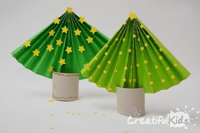 pyssel, pyssla, pysseltips, pysselidé, skapa, barnpyssel, familjepyssel, pyssel för barn, bättre hälsa, bra hälsa, må bra, kreativitet, skapande, skaparglädje, jul, julen, pyssel inför jul, julpyssel, toarulle, toarullar, toarulle pyssel, gran, julgran, solfjäder