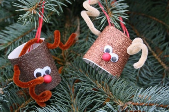 pyssel, pyssla, pysseltips, pysselidé, skapa, barnpyssel, familjepyssel, pyssel för barn, bättre hälsa, bra hälsa, må bra, kreativitet, skapande, skaparglädje, jul, julen, pyssel inför jul, julpyssel, toarulle, toarullar, toarulle pyssel, ren, renar, Rudolf, Rudolf med röda mulen