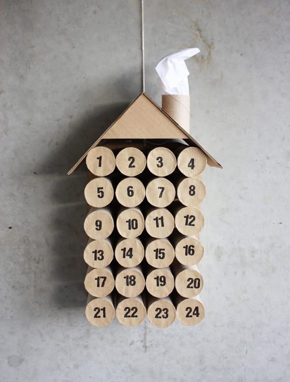 pyssel, pyssla, pysseltips, pysselidé, skapa, barnpyssel, familjepyssel, pyssel för barn, bättre hälsa, bra hälsa, må bra, kreativitet, skapande, skaparglädje, jul, julen, pyssel inför jul, julpyssel, toarulle, toarullar, toarulle pyssel, julkalender, adventskalender, advents kalender, jul kalender, kalender
