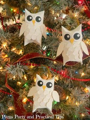 pyssel, pyssla, pysseltips, pysselidé, skapa, barnpyssel, familjepyssel, pyssel för barn, bättre hälsa, bra hälsa, må bra, kreativitet, skapande, skaparglädje, jul, julen, pyssel inför jul, julpyssel, toarulle, toarullar, toarulle pyssel, uggla, ugglor, fåglar, uggla av toarulle