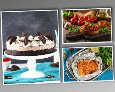nyår, nyårsmiddag, trerättersmeny, matinspiration, huvudrätt, förrätt, efterrätt, dessert, inspiration till nyår
