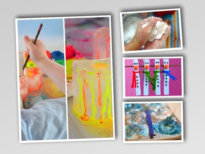pyssel, pysseltips, pysselidé, inspiration, kreativitet, skapa, skapande, barns skapande, vinter, vinterpyssel, pyssla, pyssel för barn, barnpyssel, pyssel för skola, pyssel för förskola, familjepyssel
