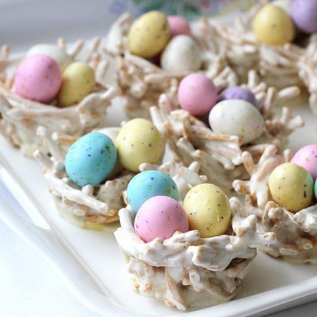 recept, påsk, påskgodis, fågelbon, ägg, påskägg, godisägg, chokladägg