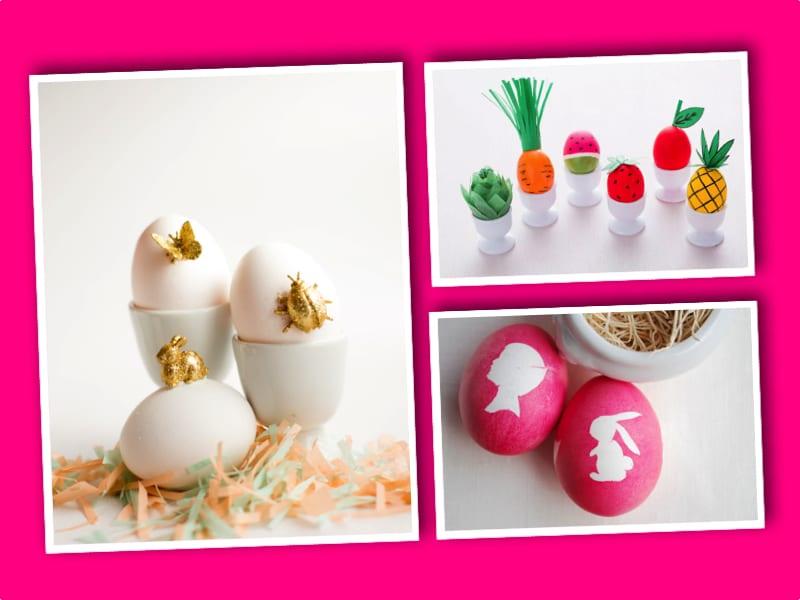 påsk, påskpyssel, pyssel, pysseltips, pysselidéer, måla ägg,