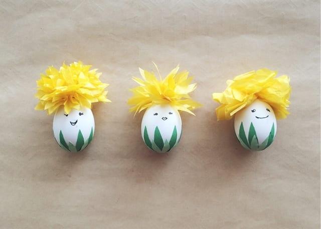 påsk, påskpyssel, pyssel, pysseltips, pysselidéer, måla ägg, blomsterälvor, älva, blomma, blommor, älvor
