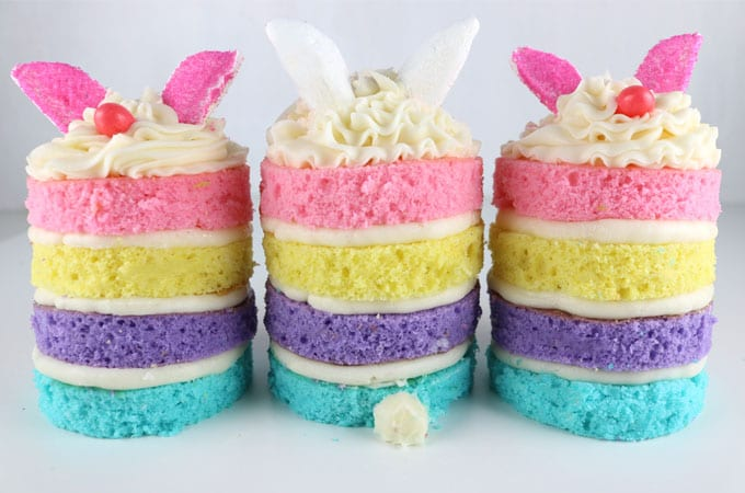 recept, påsk, påskgodis, kaka, småkaka, kakor, småkakor, godissmak, regnbågskaka, kanin, påskkanin