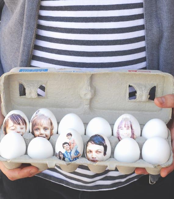påsk, påskpyssel, pyssel, pysseltips, pysselidéer, måla ägg, foto, decoupage