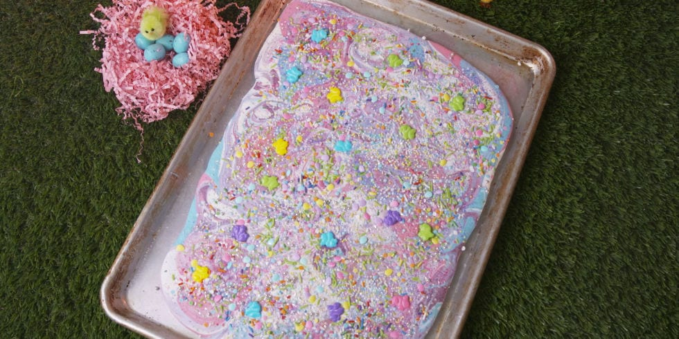 recept, påsk, påskgodis, snacks, godis, bräck, choklad, chokladbräck, färgad choklad