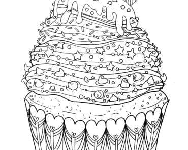 målarbilder, målarbild, gratis målarbilder, gratis målarbild, målarbok, målarböcker, målarbok för vuxna, målarböcker för vuxna, zentangle, mandala, mindfulness, måla, färglägga, mindfullness, doodle, bättre hälsa, bra hälsa, cupcake, bakelse, kaka, muffins