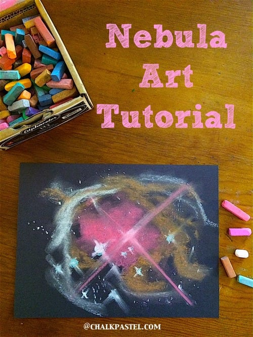 pyssel, pysseltips, pysselidé, barnpyssel, pyssel för barn, rymden, planeter, nebulosa, stjärnor, galax, galaxmönster, måla, pastellkrita, måla med pastellkritor
