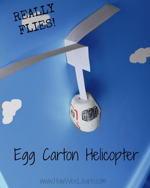 pyssel, barnpyssel, pyssel för barn, aktiviteter, aktiviteter för barn, helikopter, äggkartong, pyssla med äggkartong