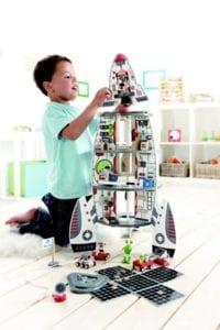 inredning till barnrum, rymden, leksak