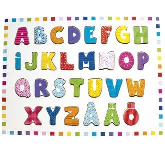 lära sig alfabetet, alfabet, ABC, bokstäver, lära sig bokstäverna, barnpyssel, pyssel för barn, alfabetspussel, pussel