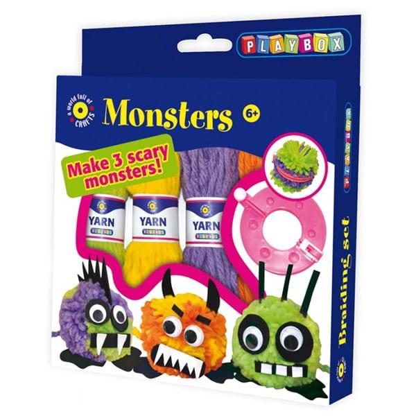 barnpyssel, pyssel man kan köpa, pyssla monster