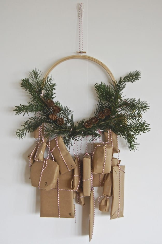 julpyssel, adventspyssel, jul, advent, pyssel, pysseltips, DIY, adventskalender, julkrans
