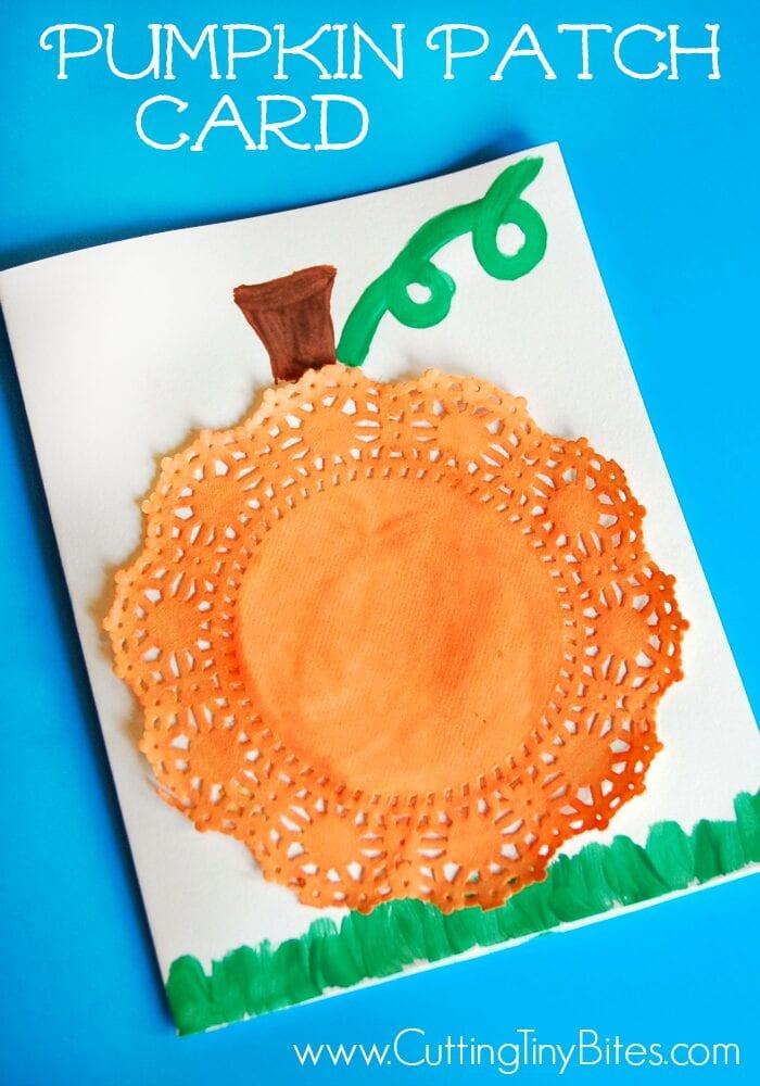 pyssel, pysseltips, pysselidé, barnpyssel, pyssel för barn, halloween, halloweenpyssel, skapa, pumpa, pumpor, tårtpapper, måla, målarfärg, hobbyfärg