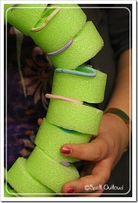 pyssel, pyssel för barn, barnpyssel, anatomi, människokroppen, experiment, anatomi, skelettet, ryggraden, så fungerar ryggraden