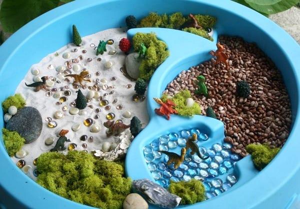 barnpyssel, lekmiljöer, lekrum, barnrum, diy, pyssel, pysseltips, sensorisk värld, miniatyrvärld