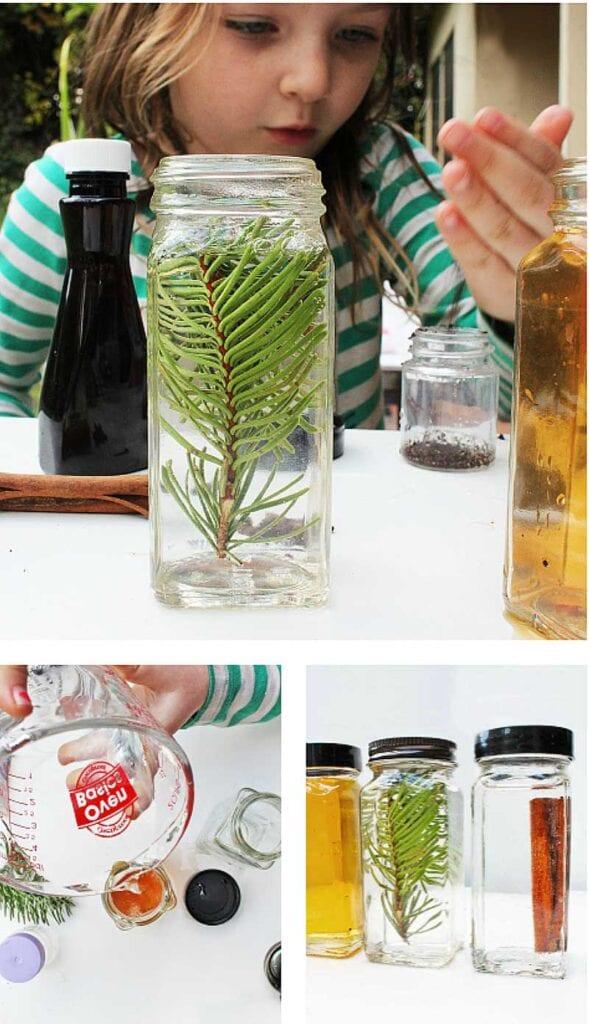 experiment, experiment för barn, naturvetenskap, NO, pyssel, pyssel för barn, barnpyssel, jul, julpyssel, julpyssel för barn, dofter, hur doftar saker, lukter, hur luktar saker
