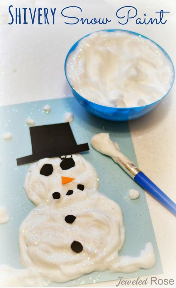 pyssel, pysseltips, pysselidé, barnpyssel, pyssel för barn, snögubbe, snögubbar, vinter, vinterpyssel, julpyssel, pyssel jul, enkla pyssel, roliga pyssel, fluffig färg, målarfärg, färg, rakkräm, skummande färg, måla en snögubbe, rita en snögubbe