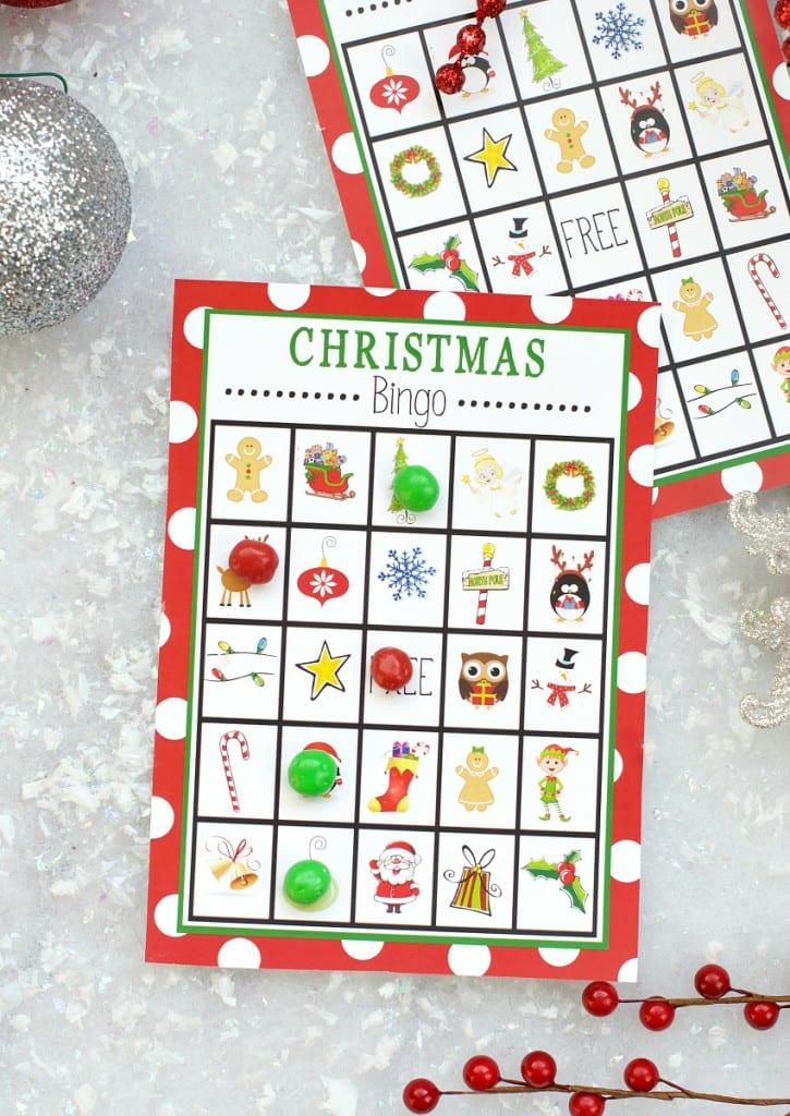 aktiviteter för barn, barnaktiviteter, pyssla och lek, knep och knåp, lektioner, skola, lektionstips, förskola, julpyssel, julpyssel för barn, spela bingo, julbingo, bingo med jultema, barnbingo, bingo för barn