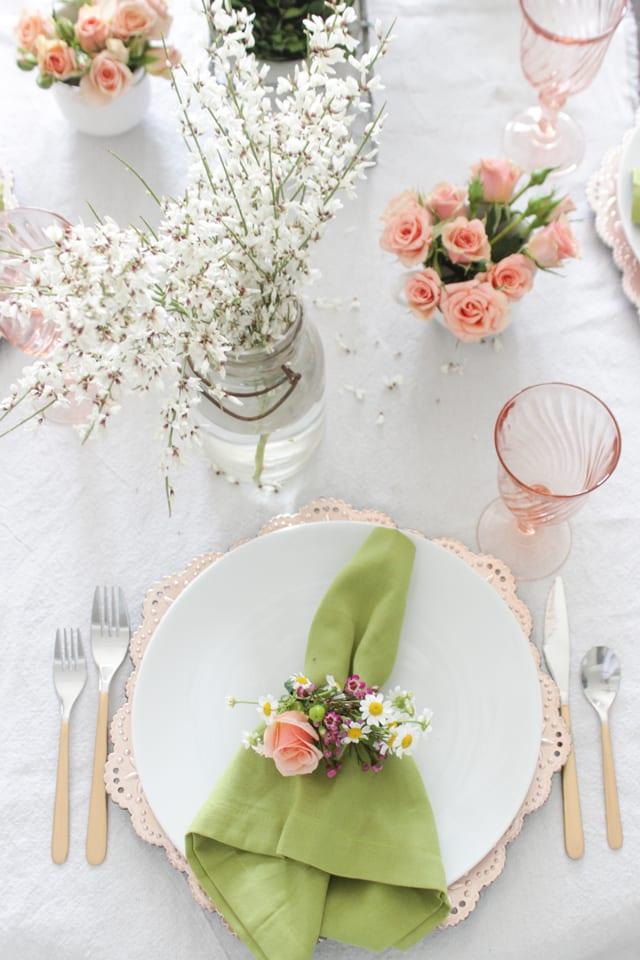 bordsdukning, duka bordet