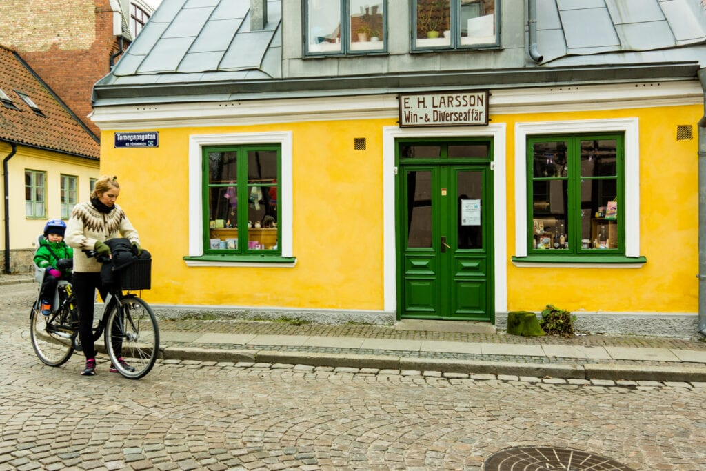 svemester, upplevelser i Sverige, gammal handelsbod i Lund