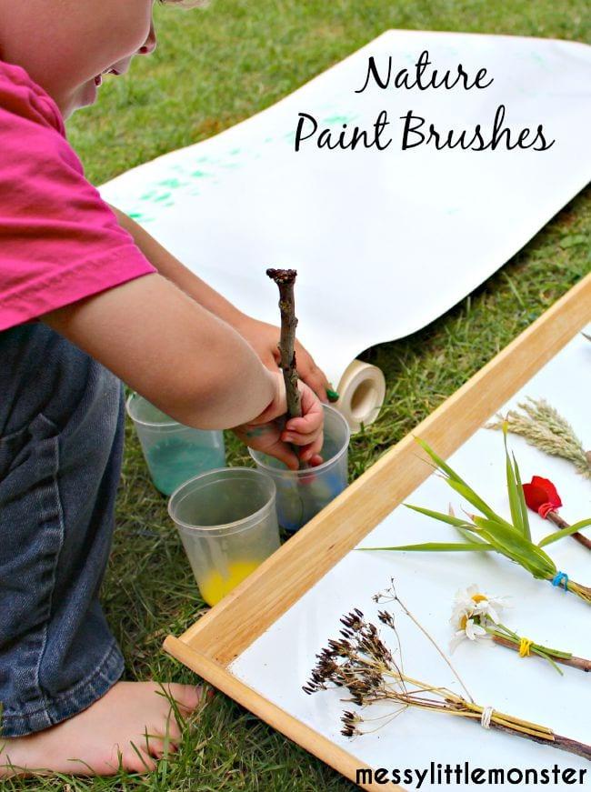 sommaraktiviteter, barnpyssel, barnaktiviteter, skapa med blommor