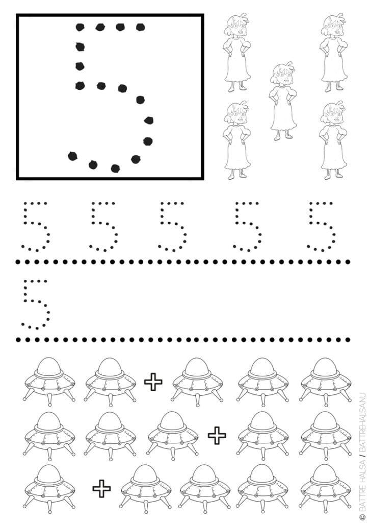 mattepyssel, aktivitetsblad, mattestenciler, lektionstips, lektionsmaterial, knep och knåp, barnpyssel