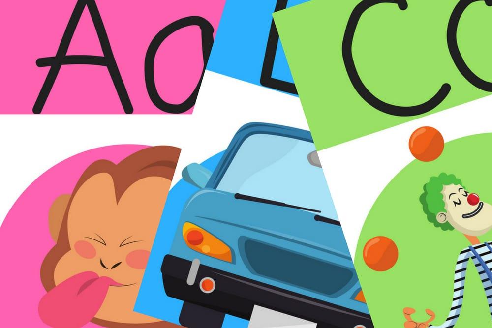 alfabetsaffischer, alfabetsposters, alfabetsplanscher