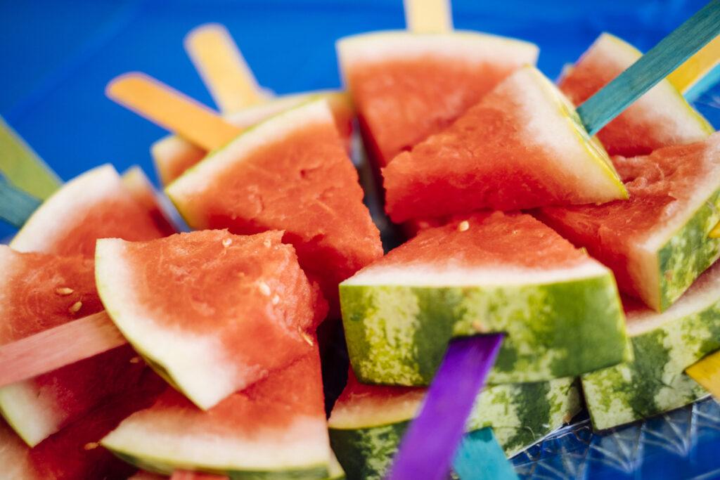 vattenmelonglass