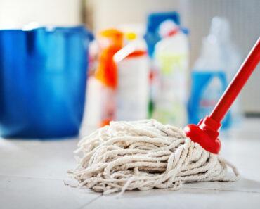 bra för hälsan att städa