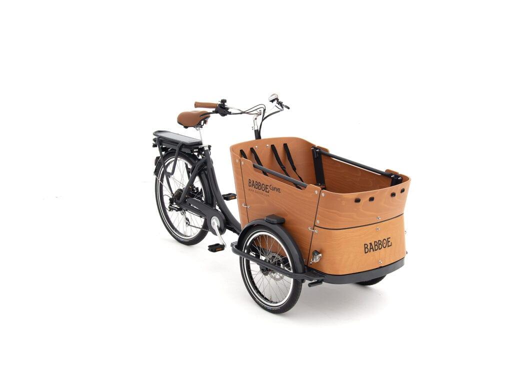 elcykel med låda