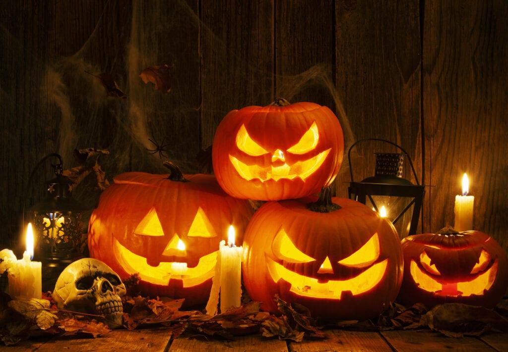 komma i ratt halloweenstämning